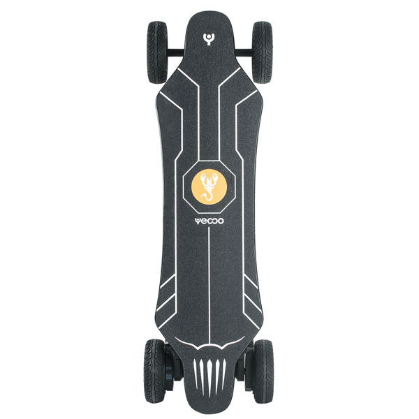 Yecoo GTS All-Terrain 2-in-1 Electric Skateboard