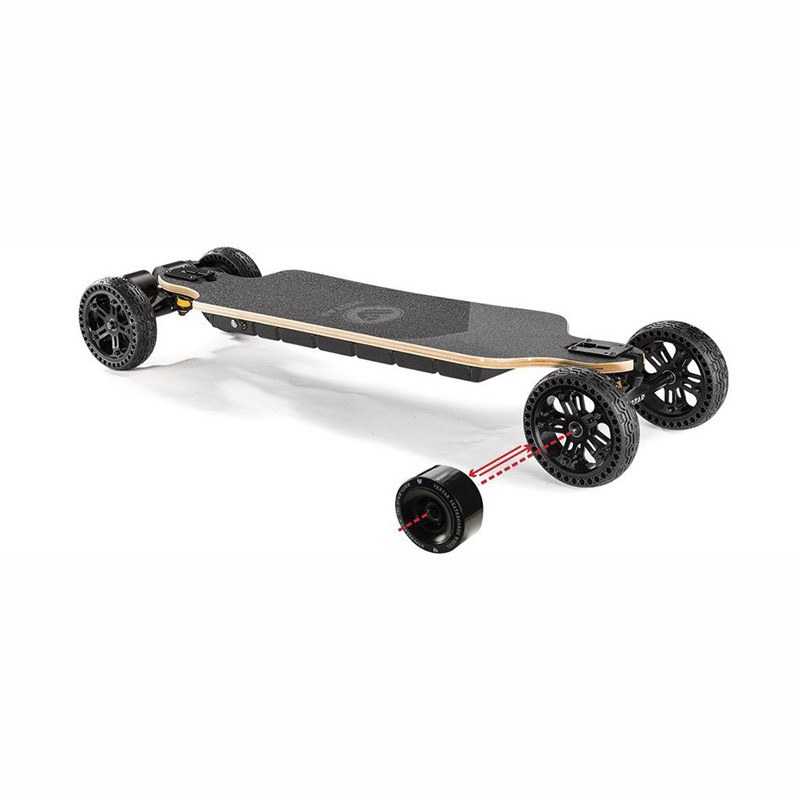 Vestar Black Hawk 2in1 Electric Skateboard